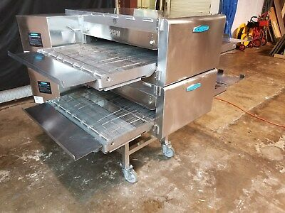TURBOCHEF hhc2620 DOUBLE STACK VENTLESS  CONVEYOR PIZZA OVEN.........VIDEO DEMO