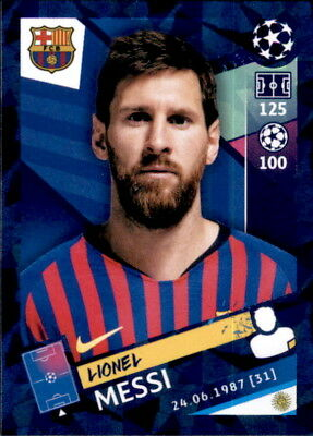 Topps Champions League 18/19 - Sticker 5 - Lionel Messi