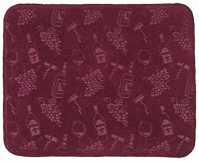Kay Dee Designs Wine Drying Mat One Size Burgundy red