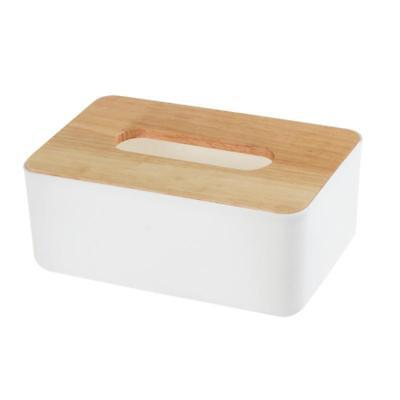 1X(Wooden Tissue Box European Style Home Tissue Container Towel Napkin Tiss U2O1