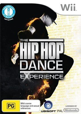 Hip Hop Dance Experience game Wii + U! NEW OZI just dancing party Nintendo stage
