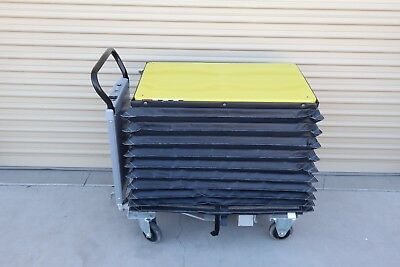 Dandy 70 Plm 150 Portable Lift Table Battery Powered Lift Max Capacity 330 Lbs