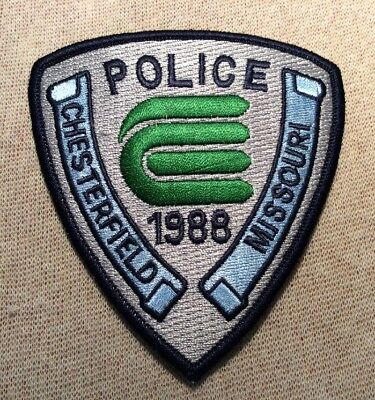MO Chesterfield Missouri Police Patch