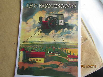 International Harverster Farm Engines Titan Gas/Oil Engine Titan Catalog HitMiss