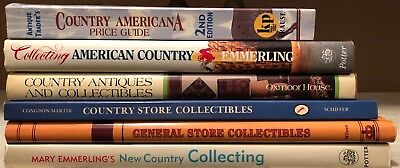 Book Lot Country Antiques Americana Collectibles General Store Emmerling