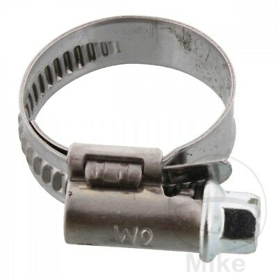Oetiker Jubilee Hose Clamp Chrome Free 16-27MM 9MM 12600453