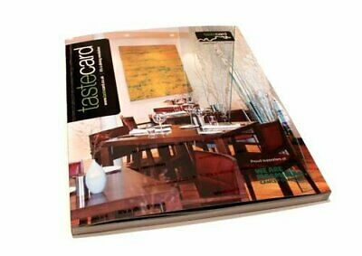 Tastecard Directory Paperback Book The Cheap Fast Free Post