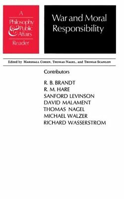 """War and Moral Responsibility: A """"Philosophy and Public Affairs"""" Rea... Paperback"""