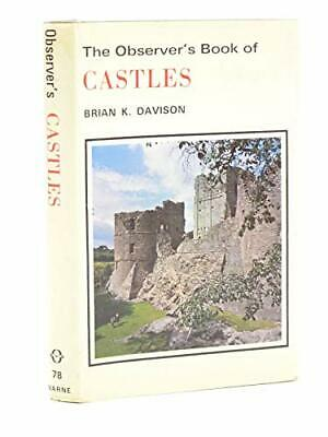 The Observer's Book of Castles by Davison, Brian K. Hardback Book The Cheap Fast