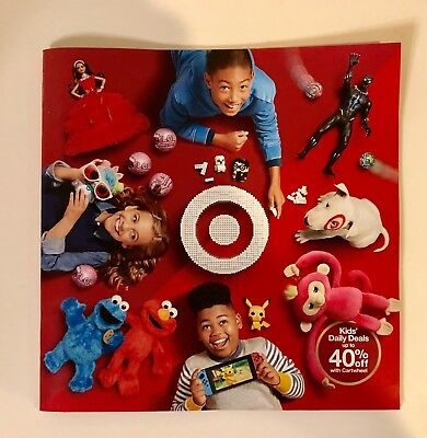 TARGET Store 2018 Christmas Holiday Toy Catalog Wish List NEW!