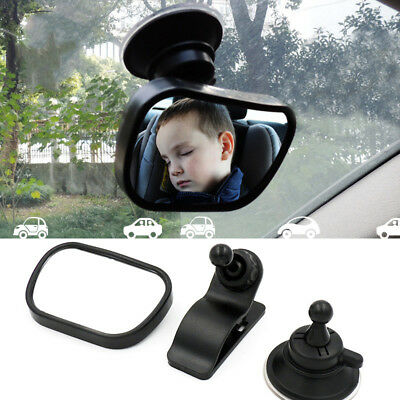 Adjustable Mini Safety Car Baby Back Seat Rear View Mirror for Infant Child
