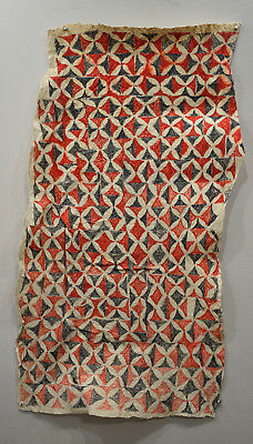 Papua New Guinea Tapa Barkcloth Ceremonial Baining Tapa Cloth
