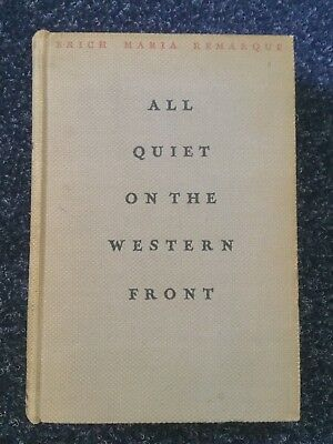 All Quiet of the Western Front 1929 USA Edition