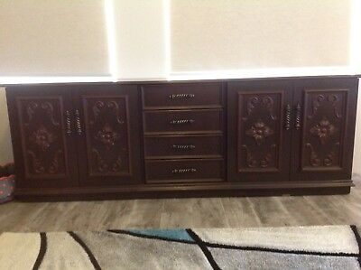2200 Buffet Sideboard Wood Furniture FULLY ASSEMBLED