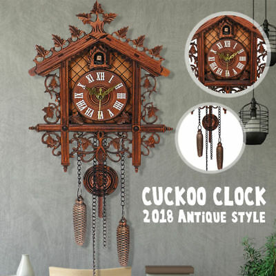 Europea Cuckoo Clock House wall clock large modern art vintage home decor UK