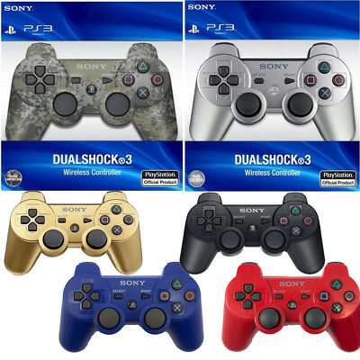 Genuine DualShock Wireless Controller Gamepad for Sony PlayStation PS3 Tested