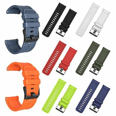 Soft Silicone Strap Replacement Watch Band For Garmin Fenix2/3/HR/5X Watch 26mm