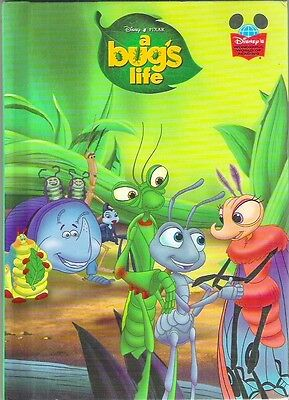 Disney Pixar A BUG'S LIFE New 1998 Grolier hb Animated Childrens Collectable