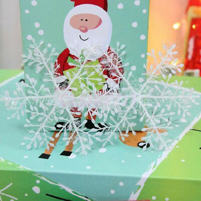 12/30/ 60pcs Classic hot Snowflake Ornaments Christmas Tree Party Home Decor