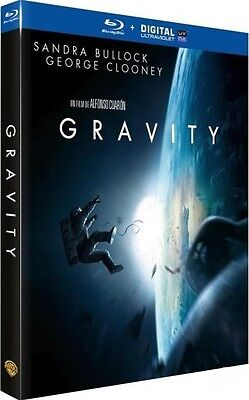 Blu Ray + Digital UV : GRAVITY  [George Clooney, Sandra Bullock] NEUF cellophané