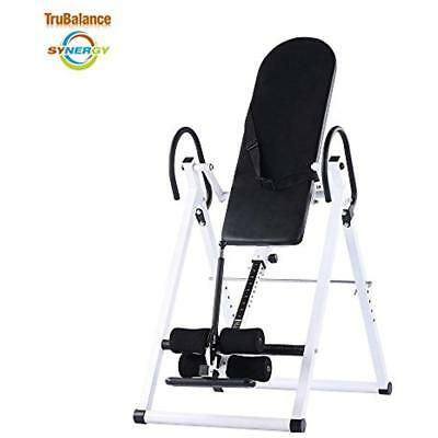 Synergy NL Pro Deluxe Inversion Table - Glacier White