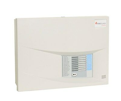 TYCO FireClass Conventional 4 Zone Fire Alarm Control 4wire Panel System Duo Cel