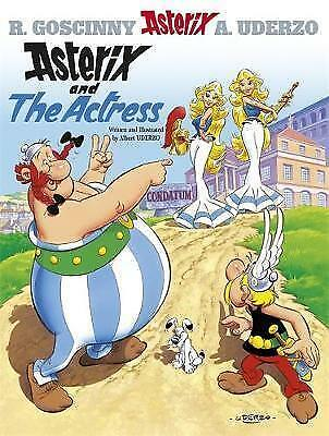 """NEW"" Asterix and the Actress, Albert Uderzo (text and illustrations), Book"