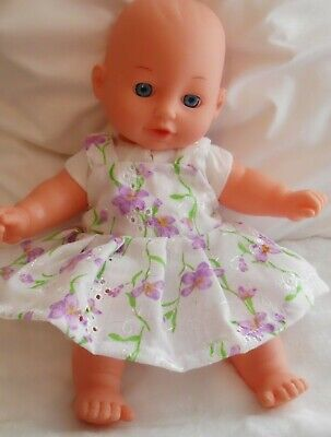 "12"" Pinny Dress Dolls Clothes Handmade Fit 30Cm Doll"