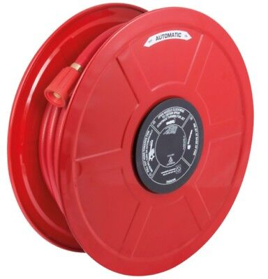 Fhramf19 Red Fire Hose Manual Fixed, Hose Reel With 30M X 19Mm Hose