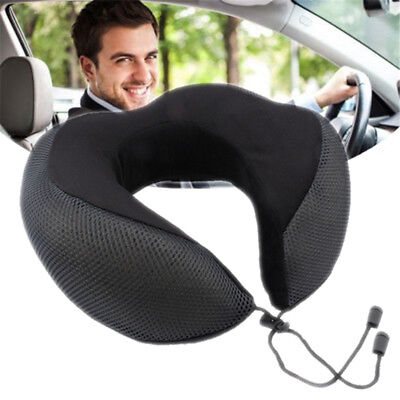 MECO Memory Foam U Shaped Travel Pillow Neck Support Head Rest Plane Car Cushion