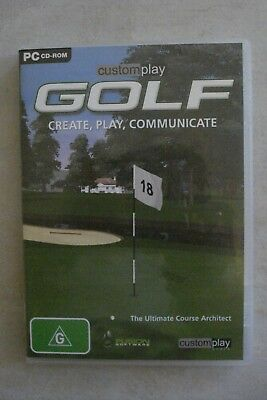 - Customplay Golf [Pc Cd-Rom] Brand New [Aussie Seller [Now $19.75]