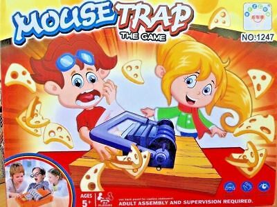 New Mouse Trap Game Funny Kids Game 2+ Players UK Seller