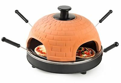 Global Gourmet Electric Tabletop Pizza Maker Oven - Under 10 Minutes