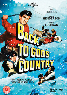 Back to God's Country DVD (2018) Rock Hudson ***NEW***