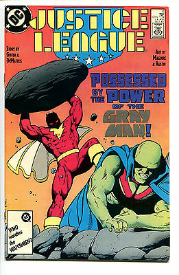 JUSTICE LEAGUE, Issue #6, (DC 1987), VF