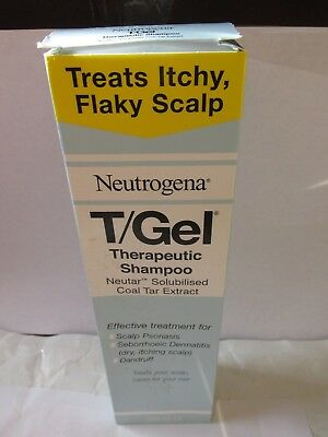Neutrogena T/Gel Therapeutic  with Coal Tar Extract