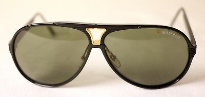 Vintage Ageing 02 Signs Used Free 6126 Maserati Post Europe Mens Sunglasses Of mN0wv8n