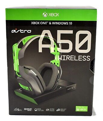 ASTRO Gaming A50 Wireless Dolby Gaming Headset | Black/Green | 3934sw
