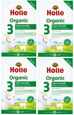 Holle Organic Goat Milk Formula Stage 3 400g FREE SHIPPING 4 BOXES 05/2020