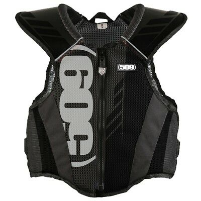 509 Backcountry TekVest Snowmobile Protective Tek Vest - Black - 509-TEK-BA2-_