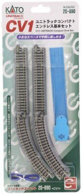 KATO N gauge CV1 Uni-track compact endless basic set 20-890 model railroad rail