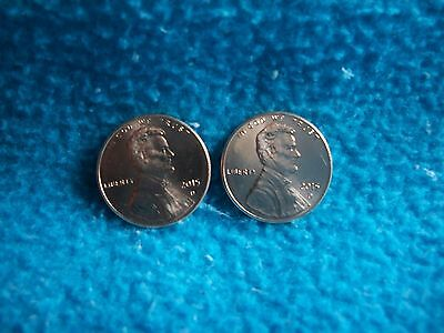 2015 P & D Lincoln Shield Cent Uncirculated
