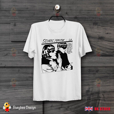 Cool Sonic Youth Goo Cartoon Fiction  Unisex T Shirt B334