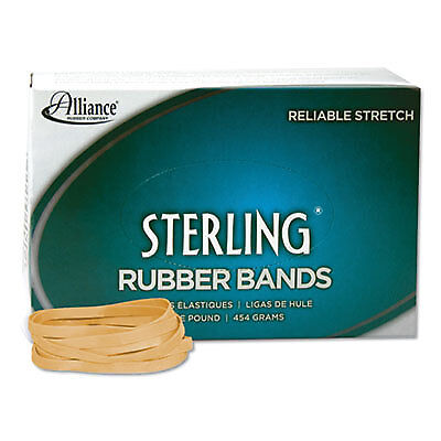 Sterling Rubber Bands Rubber Bands, 64, 3 1/2 x 1/4, 425 Bands/1lb Box 24645  -
