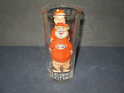 Vintage A&w - The Great Root Bear  Glass