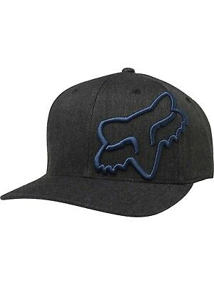 Fox Racing Men's Clouded Flexfit Hat with Foxhead Motocross Embroidered Logo