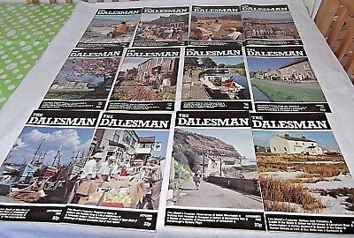 A Complete Year of The Dalesman Magazines ~ 1983