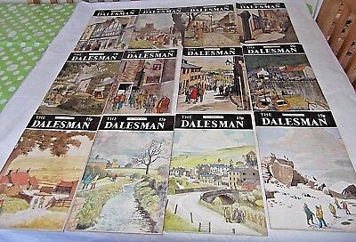 A Complete Year of The Dalesman Magazines ~ 1974