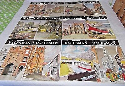 A Complete Year of The Dalesman Magazines ~ 1972