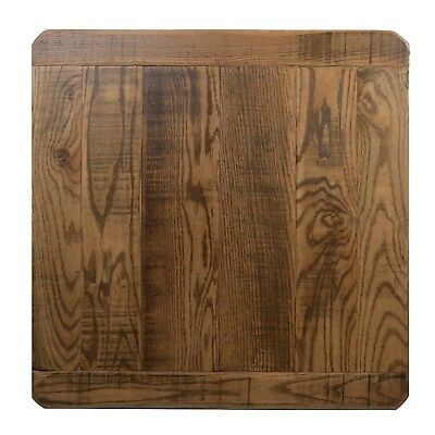 Distressed BARN WOOD Table Top 30 X 30 Urban Rustic Restaurant furniture